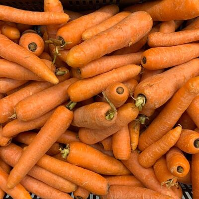 Carrots Washed